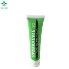 Tubo de alta calidad del envase del bálsamo del aceite esencial del vegebaume de 45g