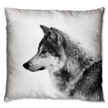 cute  wolf design cushion