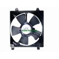 OEM Square Car Radiator Electric Cooling Fan for Honda Accord 2.0 2.4