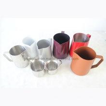 2016 Lanzador de leche de acero inoxidable popular, Jiangmen Cold Brew Coffee Jugs