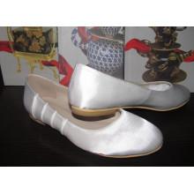 Neue Stil Mode Frauen flache Kleid Schuhe (HCY02-1497)