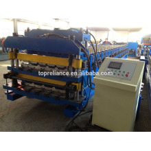 Customized Steel Roofing Sheet Double Deck Roll Forming Machine