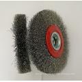 5inch стальной проволоки колеса кисти круговой щетки для шлифовальных (YY-639)