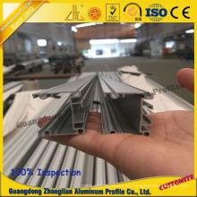 Perfil de marco de aluminio de exhibición de publicidad para archivo de perfil Snap