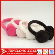 Fashion winter plush earmuffs,wholesale earmuffs