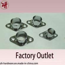 Support de tuyau de siège à bride de haute qualité et tube (ZH-8533)