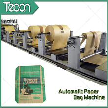 Energy Conservation Kraft Paper Bag Making Equipment