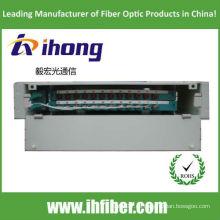 Bandeja de distribución de fibra óptica ODF odf de 19 pulgadas montada en estante