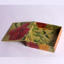 Caja de regalo hecha a medida del tirón del imán del color común