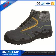 Zapatos de seguridad industriales de acero de la tapa de la punta de acero ligero Ufa029