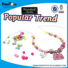 Girls beauty fashion bead necklace designs