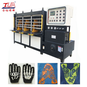 Equipment for the production KPU shoes uppers