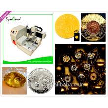 Máquina de grabado de metal para la moneda afortunada SG4040 USD2680