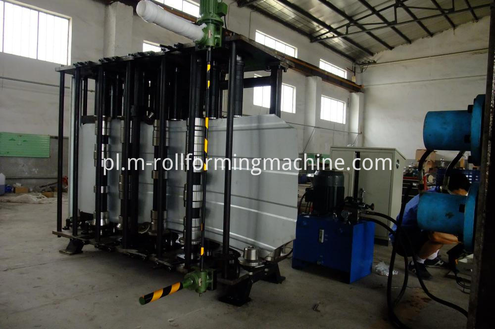 Grain Silo Plate Roll Forming Machine (3)