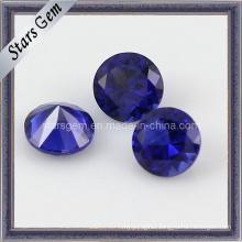 5mm Round Shape Brilliant Cut 34# Sapphire Corundum
