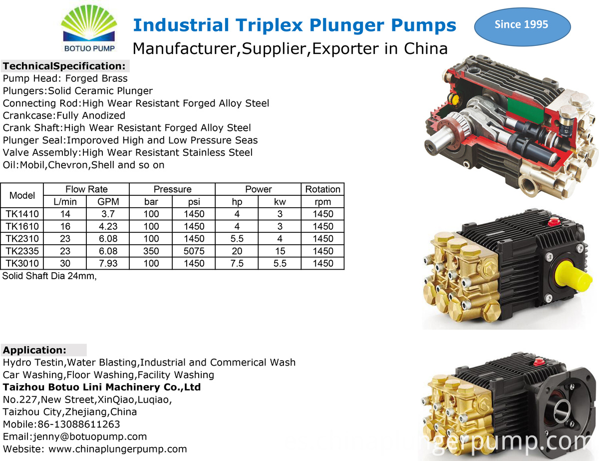 TK pumps