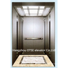 Gearless 1000kg passenger lift with cheap residential elevator price