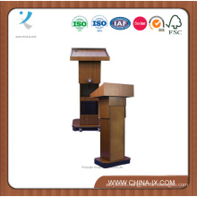 Customized Height Adjustable Podium with Wheels for Floor