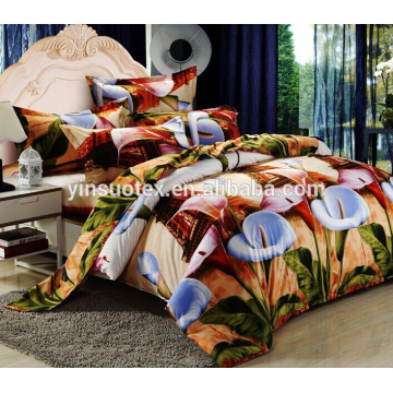 GSM polyester disperse print 3d bedding set
