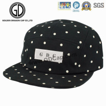 2016 hochwertige Mode Japan DOT Black Snapback Camper Cap