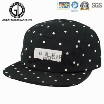 2016 High Quality Fashion Japan DOT Black Snapback Camper Cap
