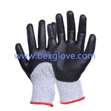 13 Gauge Anti-Cut Liner Work Glove, Résistance à la coupe jusqu'à niveau 5, Hppe / Fibre de verre / Spandex / Nylon,