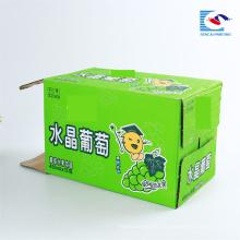 Niedriger Preis benutzerdefinierte Frucht Getränke Wellpappe Verpackung