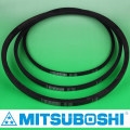 Mitsuboshi Belting classical V-Belt M, A, B, C, D, E types and wedge belts. Most popular types for standard use. Made in Japan