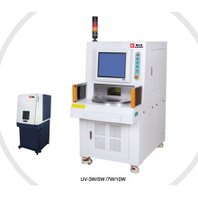 iPad Marker Laser Printer Machine on Plastic