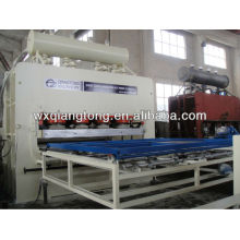 Double sided laminating funiture board hot press /melamine board hot press machine