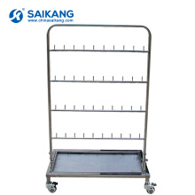 SKH088 Medical Hospital Stainless Steel Swab Stand For Sale