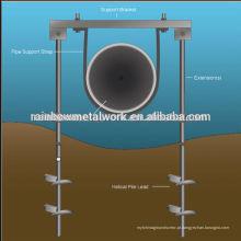 Sistema de ancoragem de parafuso de tubulação