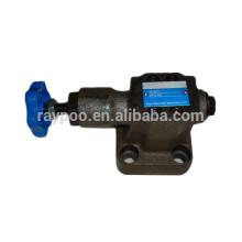 China válvula hidráulica y2 válvula de alívio de pressão hidráulica