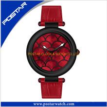 Reloj de cuarzo suizo de movimiento más vendido para las señoras