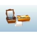 Bonjee Automatic Carton Box Making Machine Prices Paper Meal Carton / Pizza Box / Hamburgers Box Machine Carton