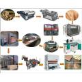 Máquina de fabricação de linha de produção de madeira compensada