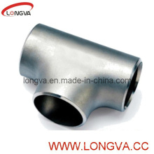 T de igual inoxidável de aço inoxidável de encaixes de tubulação
