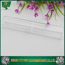 Cajas plásticas baratas de la pluma al por mayor