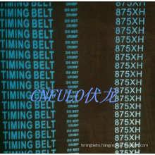 Industrial Timing Belt, Flat Teeth, Neoprene/Cr, 875xh
