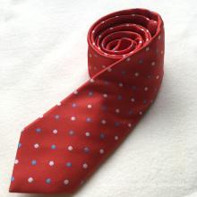 Personnalisé de mode en gros 100% polyester Slim cravates hommes