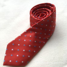Custom Fashion Wholesale 100% Polyester Slim Ties Men