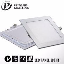 Luz de painel exterior de alumínio do diodo emissor de luz 6W para a casa com CE