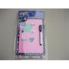 Plato de papel plano de escritura | De buena calidad imán de refrigerador de escritura de tarjetas | Tablero magnético personalizado de la escritura