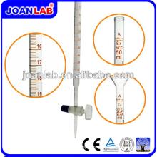 Джоан высококачественной лабораторной посуды 10/25мл кислота Бюретка(класс A)