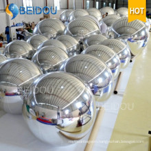Hot Sale Decorative Gold Blue Mini Plastic Mirror Balls Mini Disco Inflatable Mirror Ball