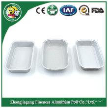 Silberne Farbe Bestseller Aluminium Einweg Fast Food Container