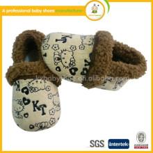 Chaussures hiver doux pour enfants 2015 en gros hello kitty Chaussures hiver pour bébés