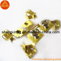 Copper Punching Stamping Electric Terminal Electronic Block Parts (SX053)