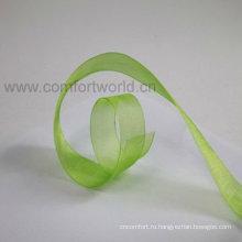Satin ribbon handmade flowers
