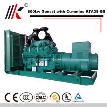 Генератор 800kw/окружающем 880kw комплект с CUMMINS KTA38-G5 с дизельным двигателем генератор 1000КВА